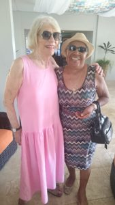 Betty Silander and Donna Ruth Ford