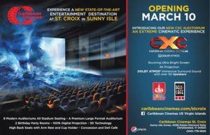 caribbean cinemas opening